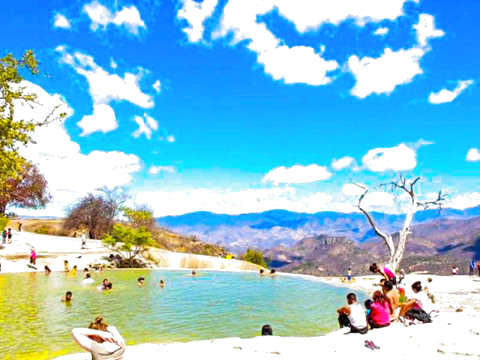 Hierve el Agua and the Zapotec Village