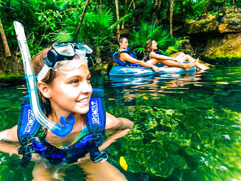 Tour in Xel Ha