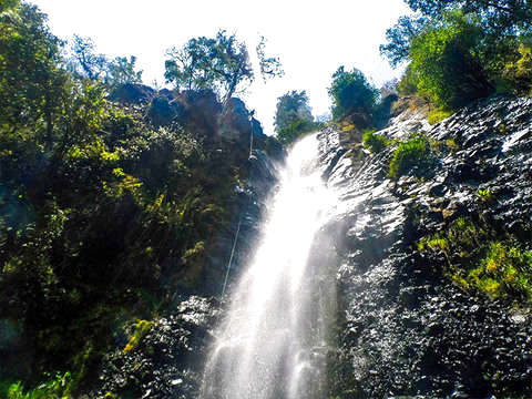 Rappel Waterfall of the Obraje