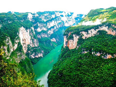 Tour in Sumidero Canyon and Chiapa de Corzo