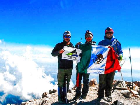 Mountaineering Cima Iztaccihuatl