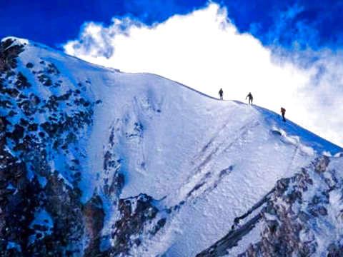 Mountaineering Cima Pico de Orizaba