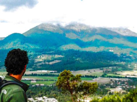 Hiking in Xitle