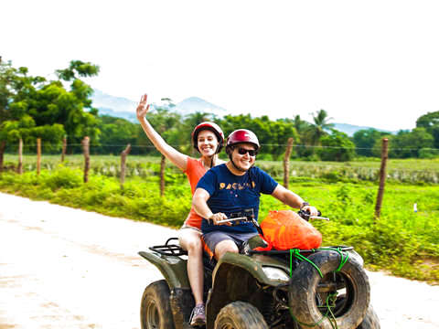 All Terrain Jungle Tour in Huatulco