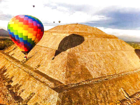 Balloon Flight Teotihuacan