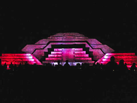 Teotihuacan of Day and Night