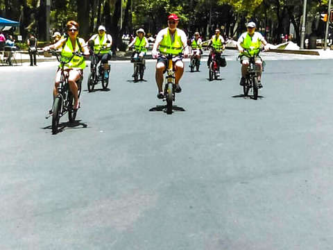 Electric Bike Tour in Mexico City