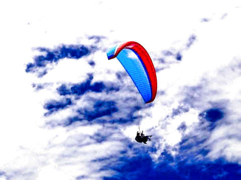 Paragliding flight in Tenancingo