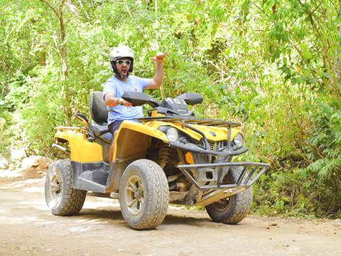 Single Atv'S With Tulum from Riviera Maya
