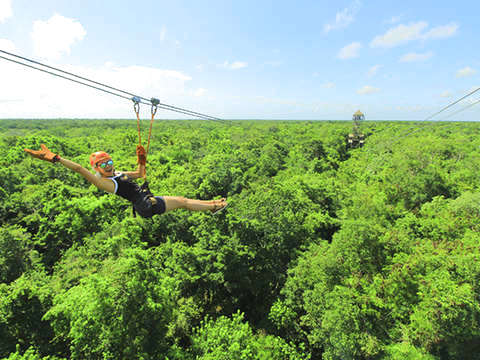 Single Atv'S With Zipline from Riviera Maya