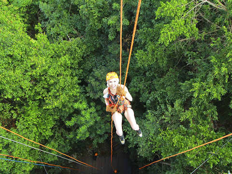 Extreme Zipline, Cenote and Rappel Tour from Riviera Maya