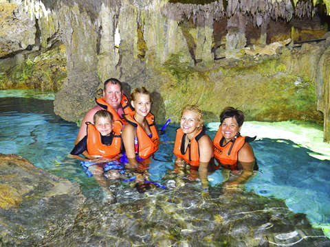 Snorkel Tour in Three Ecosystems from Riviera Maya
