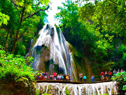 From Monterrey: Cola de Caballo Waterfall Tour