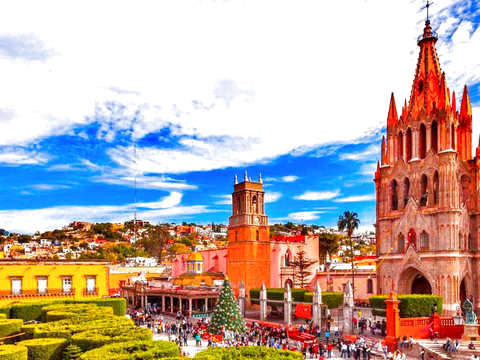 From Cdmx: Visit to San Miguel de Allende