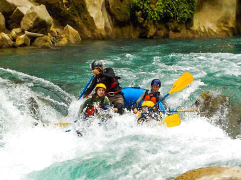 From Ciudad Valles: Rafting Tampaon