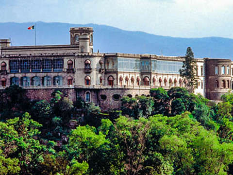 Castillo de Chapultepec and Museum of Anthropology