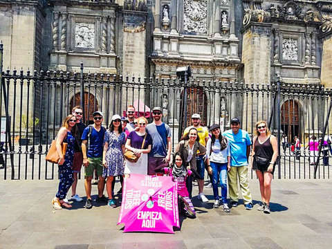 Cdmx Historical Center Free Tour
