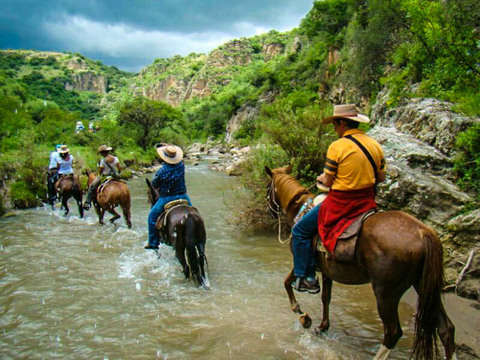 From San Miguel de Allende: Horseback Riding in the Canyon