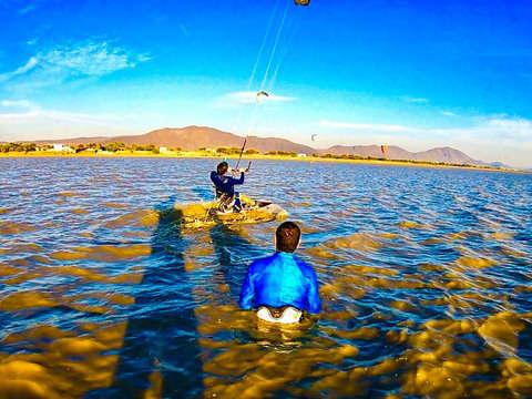 Kitesurfing class in Jalisco