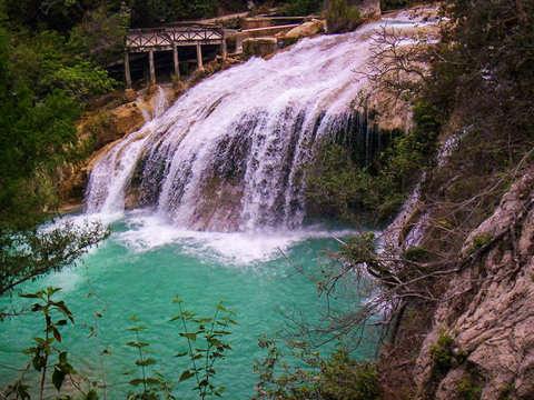 From Tuxtla: El Chiflón + Lagos de Montebello Waterfalls