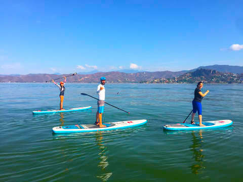 Paddle Board in Lago de Valle de Bravo