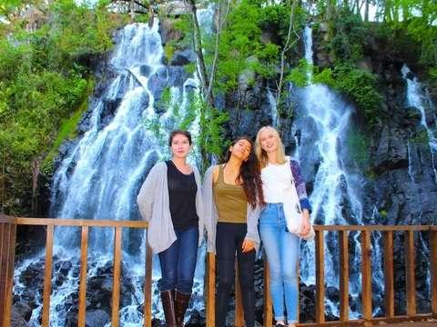 Visit Cascadas Velo de Novia and the Mill