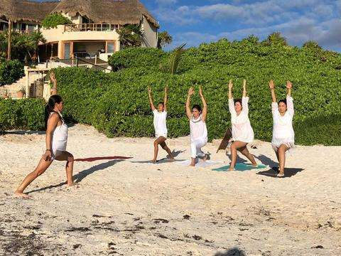 Yoga in Tulum
