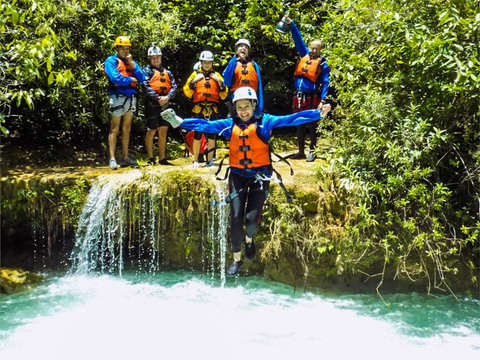 Canyoning in Morelos