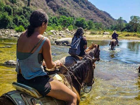 Horseback Riding Atotonilco in Puerto Escondido