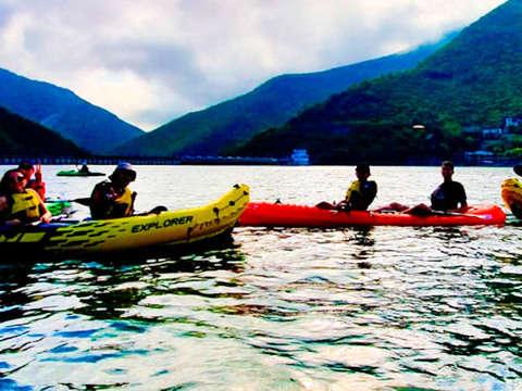 Kayak en Santiago