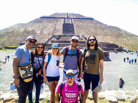 From Cdmx: Visit Teotihuacán by Bus