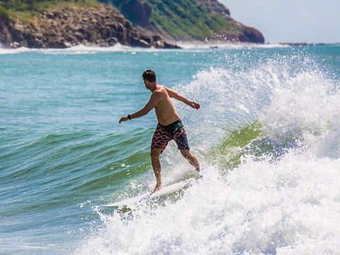 Surf Lessons in Huatulco