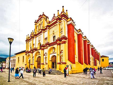 7d / 6n - Tour Bellezas del Sureste Mexicano