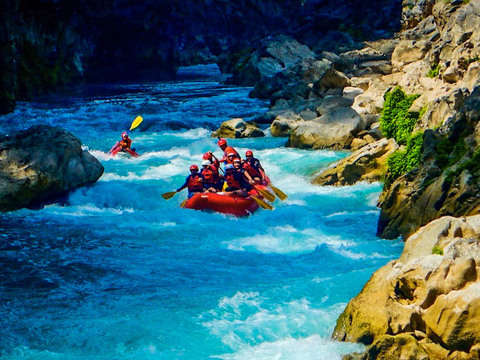 Rafting in the Huasteca Potosina