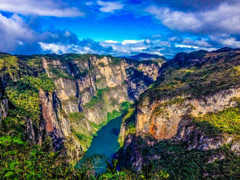 Chiapas: Sumidero Canyon