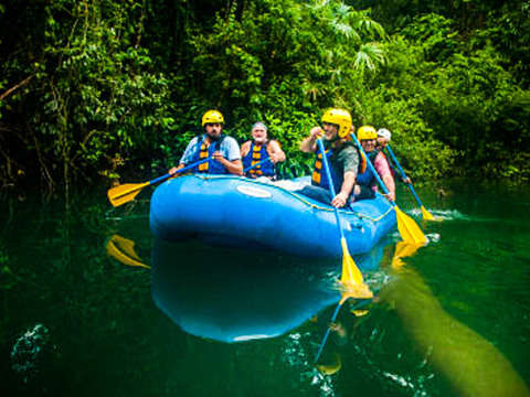 Rafting in Lacandon Jungle and Archaeological Zone of Bonampak