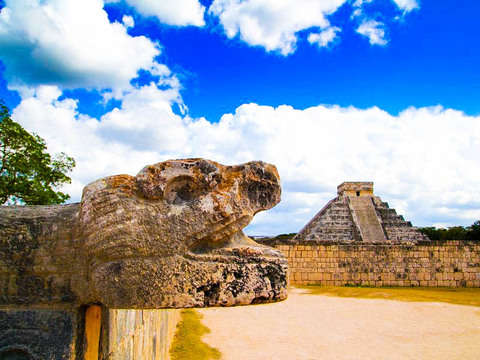 From Cancun: Chichen Itza in the Morning