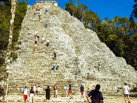 From Cancun: Visit Cobá