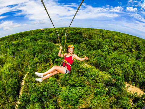 From Cancun: Jungle Maya Adventure Tour