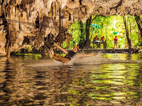 From Riviera Maya: Jungle Maya Adventure Tour