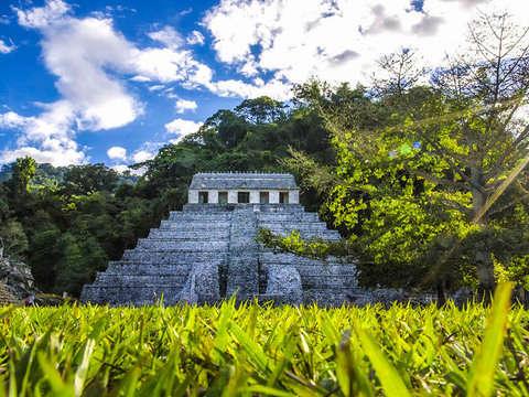 From San Cristobal de las Casas: Palenque