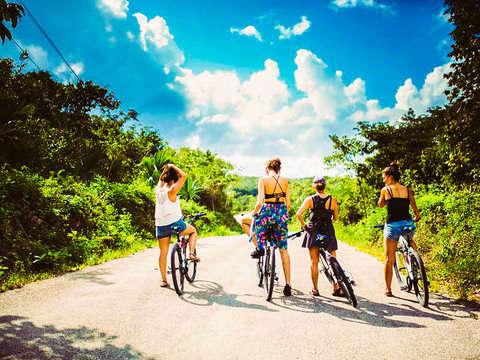 From Tulum: Mayan Bike Trails