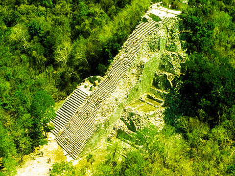 From Tulum: Expedition in Mayan Lands, Coba