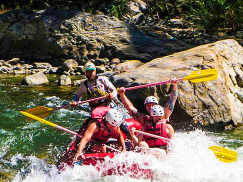 From Huatulco: Rafting la Bocana