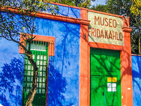 Frida Kahlo Museum in the Afternoon