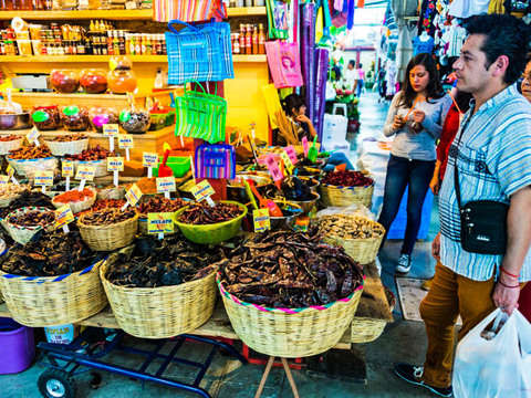 San Juan Market Tour in Cdmx