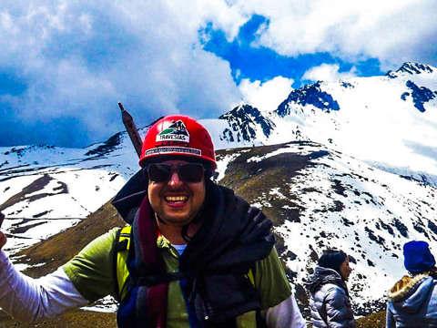 Sunrise in Nevado de Toluca