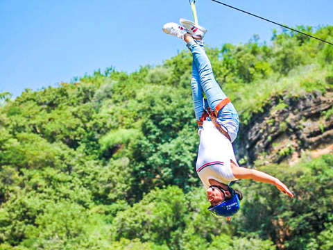 From Malinalco: Tlatucapa Zip Line